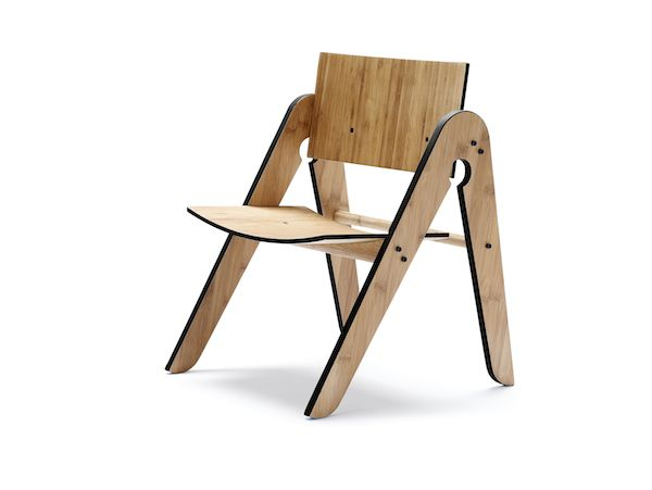 We Do Wood børnemøbler - Lily stol - Tinga Tango Designbutik