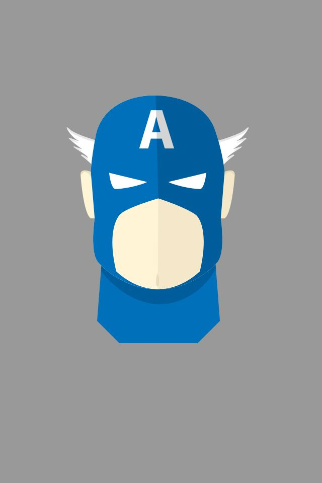 Captain America Mask ★ Find more nerdy #iPhone + #Android #Wallpapers and #Backgrounds at @prettywallpaper