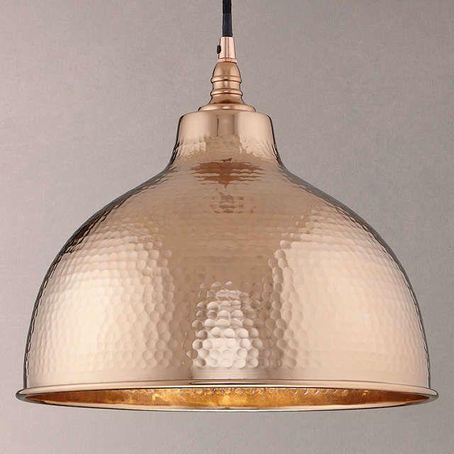 BuyJohn Lewis Bolu Pendant Shade, Copper Online at johnlewis.com