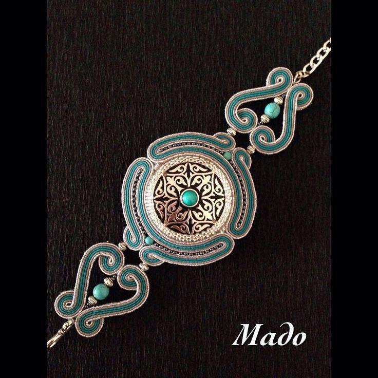 """151 Likes, 3 Comments - Мадина (@mado7606) on Instagram: """"Сутажные украшения от Mado в национальном стиле.…"""""""