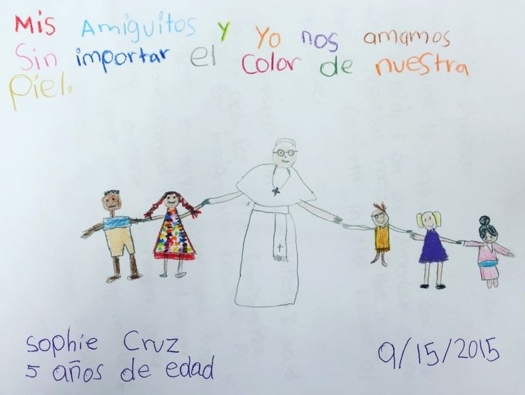 Meet Sophie Cruz, 5-year-old who gave the pope a letter because she doesn't want her parents deported - The Washington Post