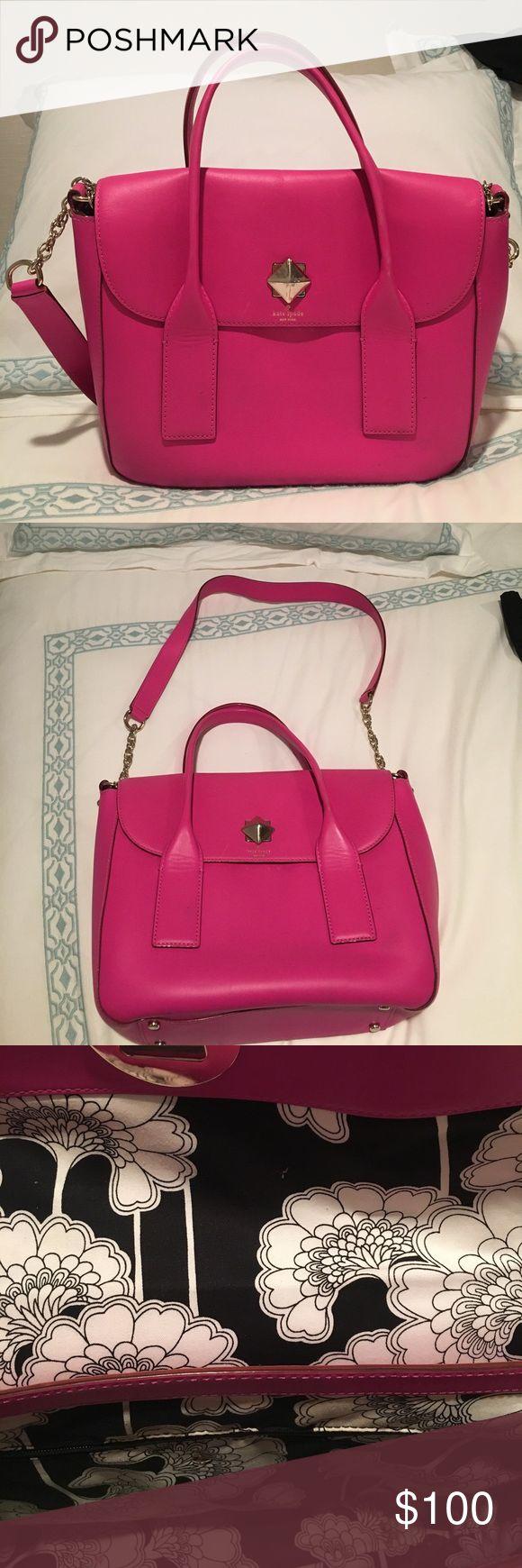 Kate Spade Pink bag Has handle and shoulder strap kate spade Bags