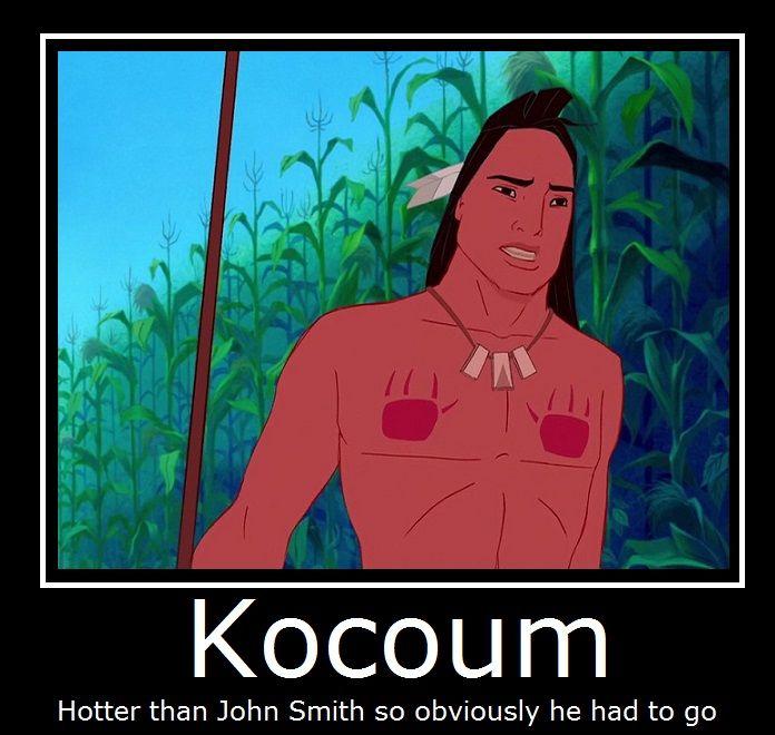Pocahontas- Kocoum by MasterOf4Elements on DeviantArt