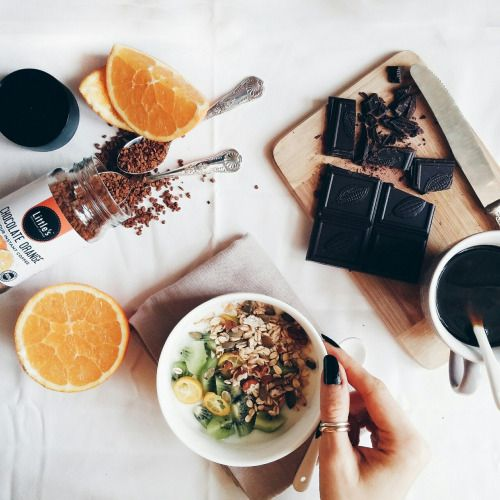 grafika food, healthy, and coffee