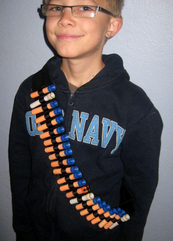 Dart Bandolier Nerf Dart Holder for Children by SharedJelly, $15.95