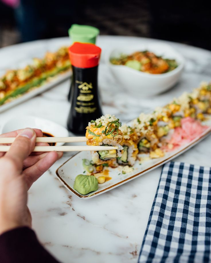 The Big Mouth Johannesburg - Sushi, Poke and tapas-y things!