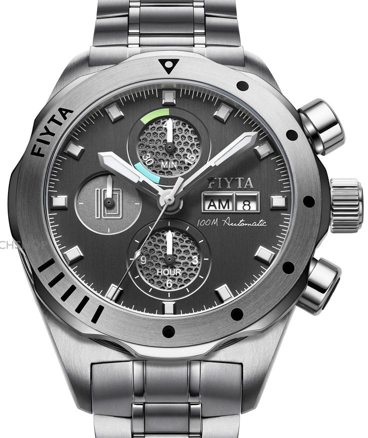 FIYTA Aeronautics Shenzhou X Limited Edition Titanium Automatic Chronograph Watch GA8602.WBW