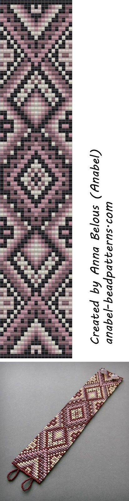 scheme beading bracelet weaving patterns beaded pattern