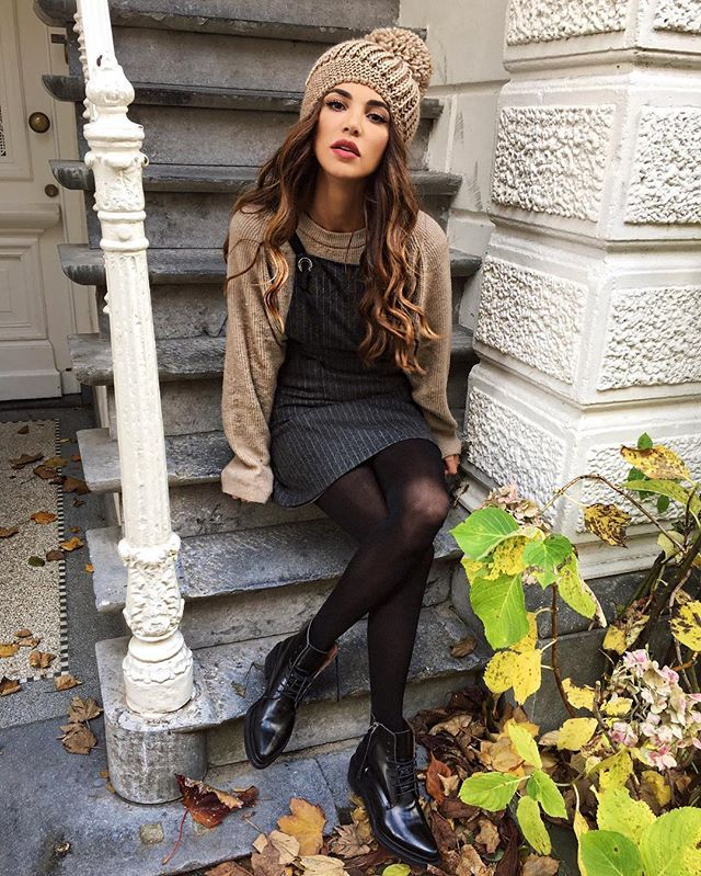 WEBSTA @ negin_mirsalehi - When your beanie makes your head look twice as big but you love it anyway.