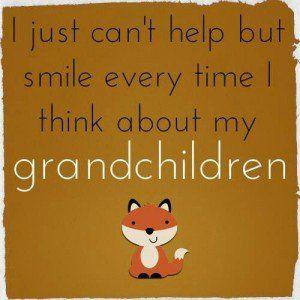 Great quote about grandchildren!