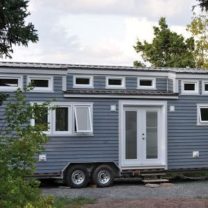 A unique tiny house on wheels created by Maximus Extreme Living Solutions. Created for the show, Tiny House Living.