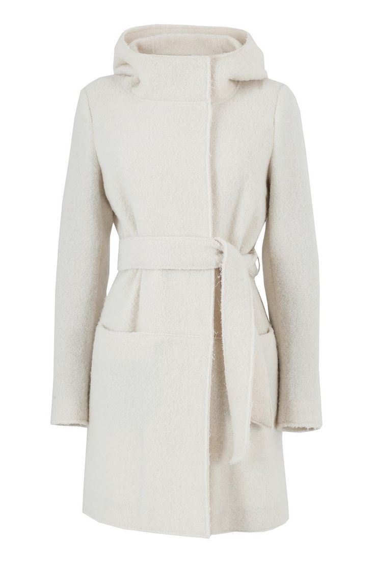 Cappotto bianco - Collezione invernale Tonello Donna