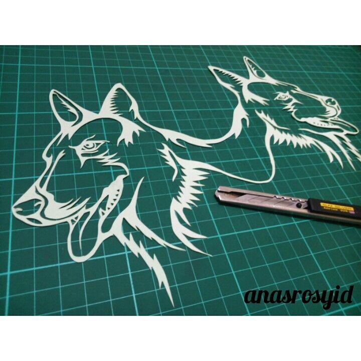 #dog #papercut