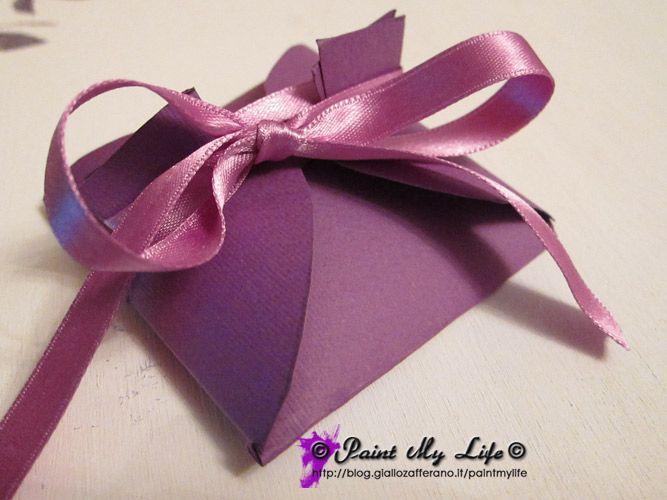Tutorial confezione regalo mini