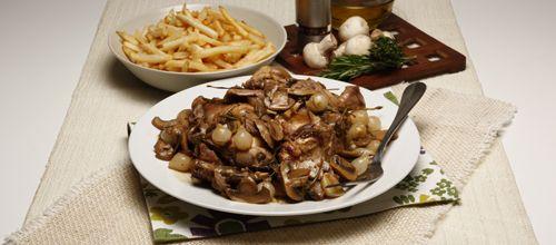 Coelho à caçador - TeleCulinária Receitas de Culinária - Carnes
