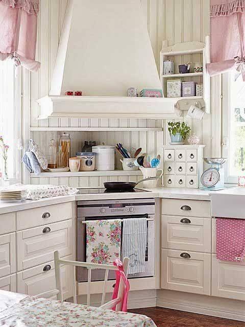 Corner Stove Kitchen home vintage kitchen decorate cozy stove corner