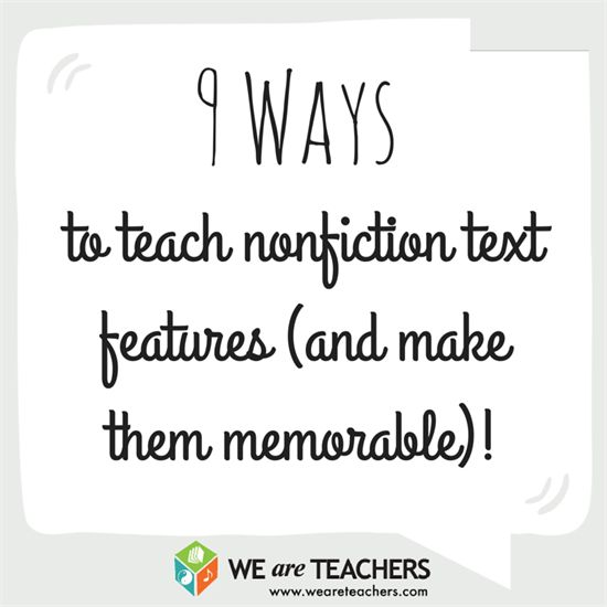 Don't Skip the Table of Contents! 9 Ways to Teach Nonfiction Text Features