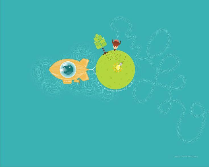 Let your imagination fly by Crabu.deviantart.com on @deviantART