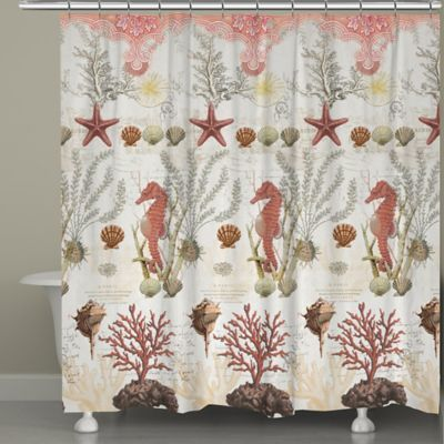 navy coral shower curtain. Laural Home  Ornate Coral Shower Curtain Best 25 shower curtains ideas on Pinterest Teal kid