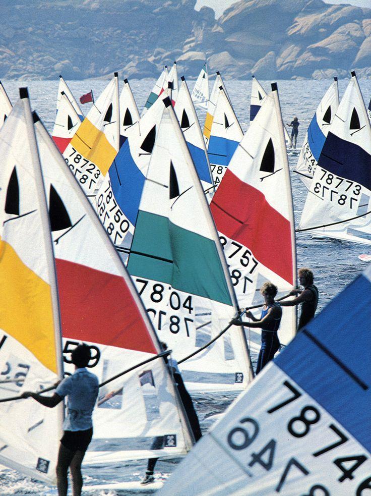 Echte eenheidsklasse wedstrijden. #Windsurfing