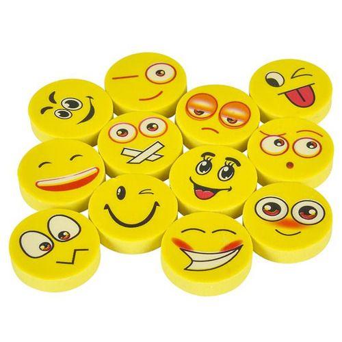 Favors & Prizes Emoji Erasers Image