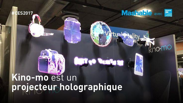 Kino-mo, le projecteur d'hologrammes 3D flottants
