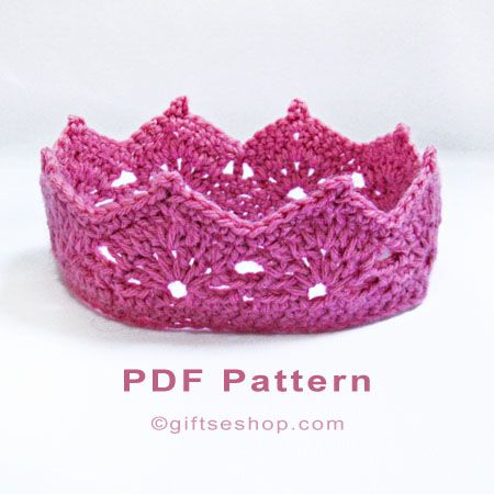 crochet crown pattern n77                                                                                                                                                                                 More