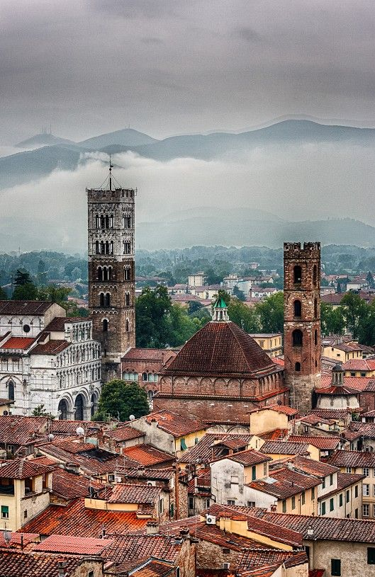 Lucca, Toscane, www.luxetent.nl/italie
