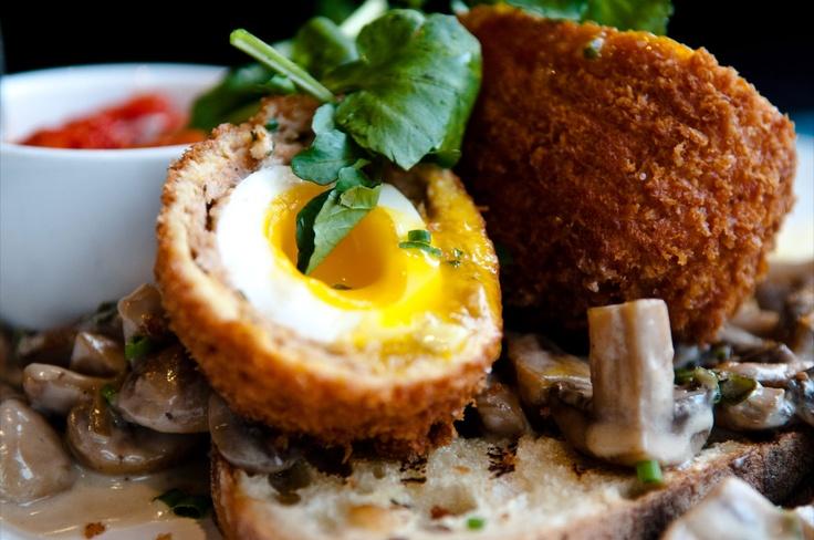 Oeuf écossais Régine Café  Régine Café's scotch egg