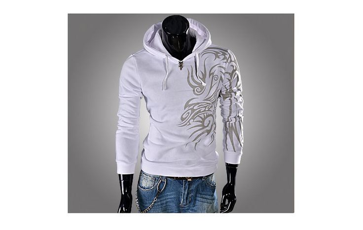 men fashion - Men's Clothing - T-shirt - *L*HH- 80113#Men Blouse - White -  Asia Asian Fashion Wholesale