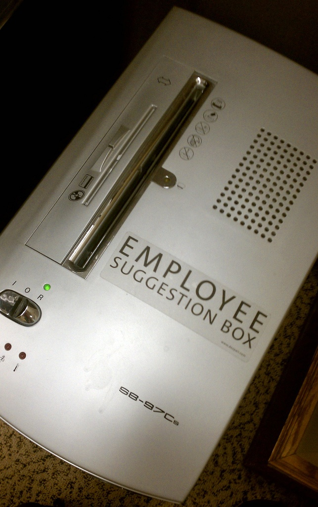Employee suggestion box?: Idea, Funny