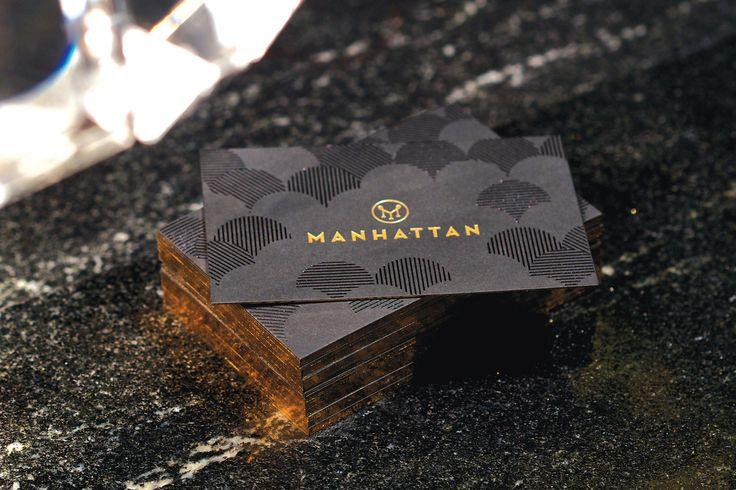 There Design-   Identity Cards for Manhattan- Four Seasons Hotel Singapore  http://there.com.au/work/Manhattan