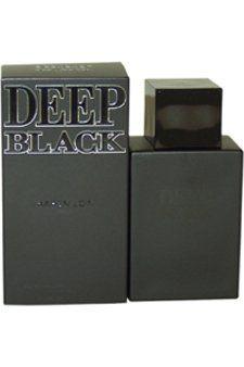 Deep Black Eau De Toilette Spray for Men, 3.4 Ounce by Karen Low. Save 30 Off!. $16.68