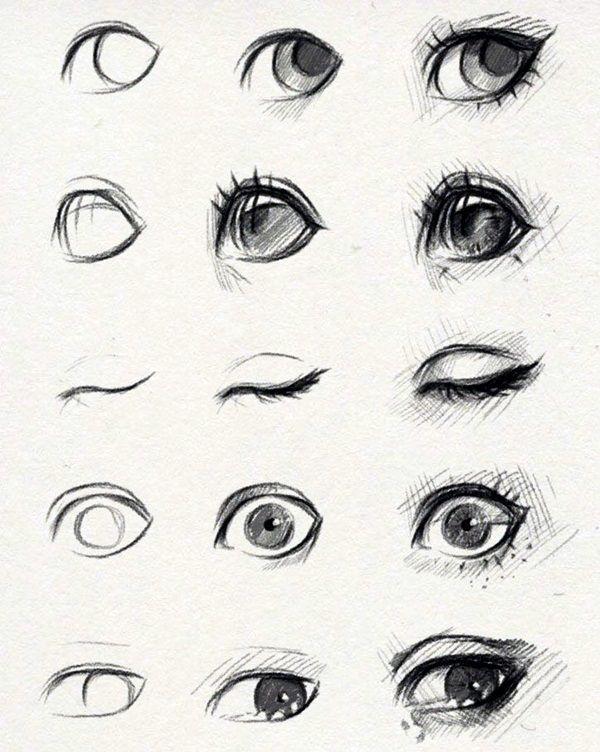 Wie zeichnet man ein Auge – 40 erstaunliche Tutorials und Beispiele – gelangweilte Kunst