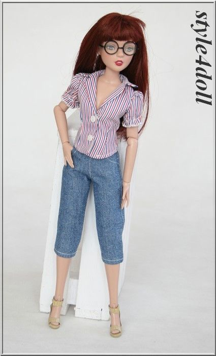 "style4doll - blouse & trousers for Agatha Primrose 13"" Tonner  