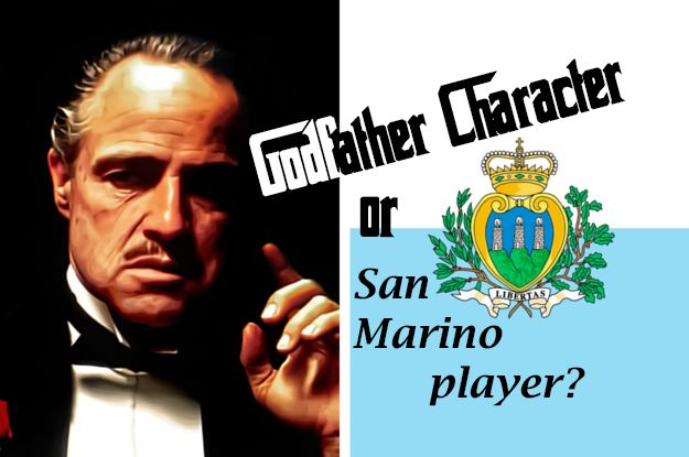 """""""Godfather"""" Character Or San Marino Player? - http://edgysocial.com/godfather-character-or-san-marino-player/"""