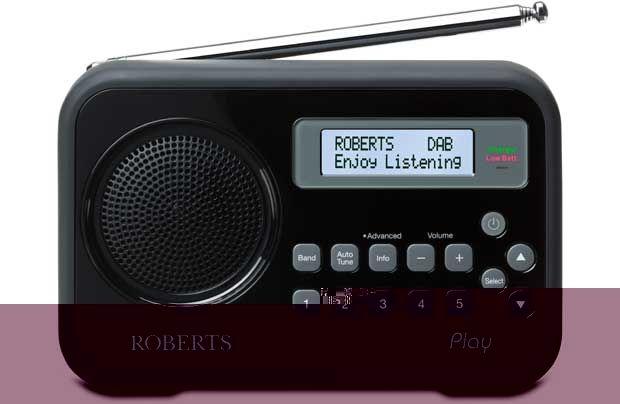 Roberts Radio Play Digital Radio - Black: The Play Radio from Roberts Radio is a highly portable digital radio… #UKShopping #OnlineShopping