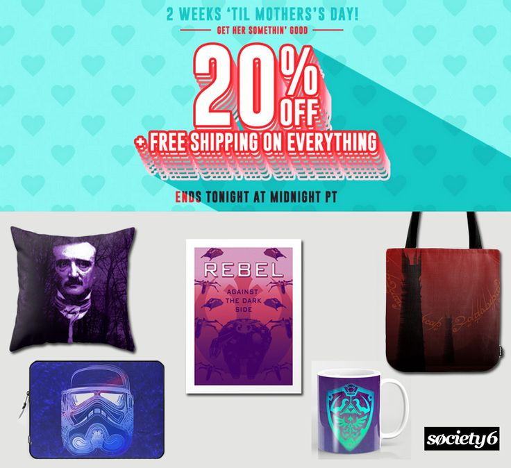 20% OFF Everything +FREE Shipping Worldwide  #gaming #gamer #gifts #zeldagifts #poegifts #lordoftheringsgifts #starwarsgifts #giftsforhim #giftsforher #homedecor #homegifts #sales #save #discount #discountgifts #maysales #totebags #mugs #tshirts #posters #laptopsleeves #coffeemugs #coolgifts #geek #nerd #movie