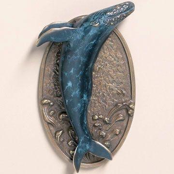 Whale door knocker!