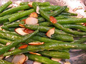 Rita's Recipes: Green Beans Almondine