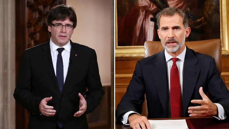 Catalan crisis: Spain condemns 'blackmail' of Puigdemont