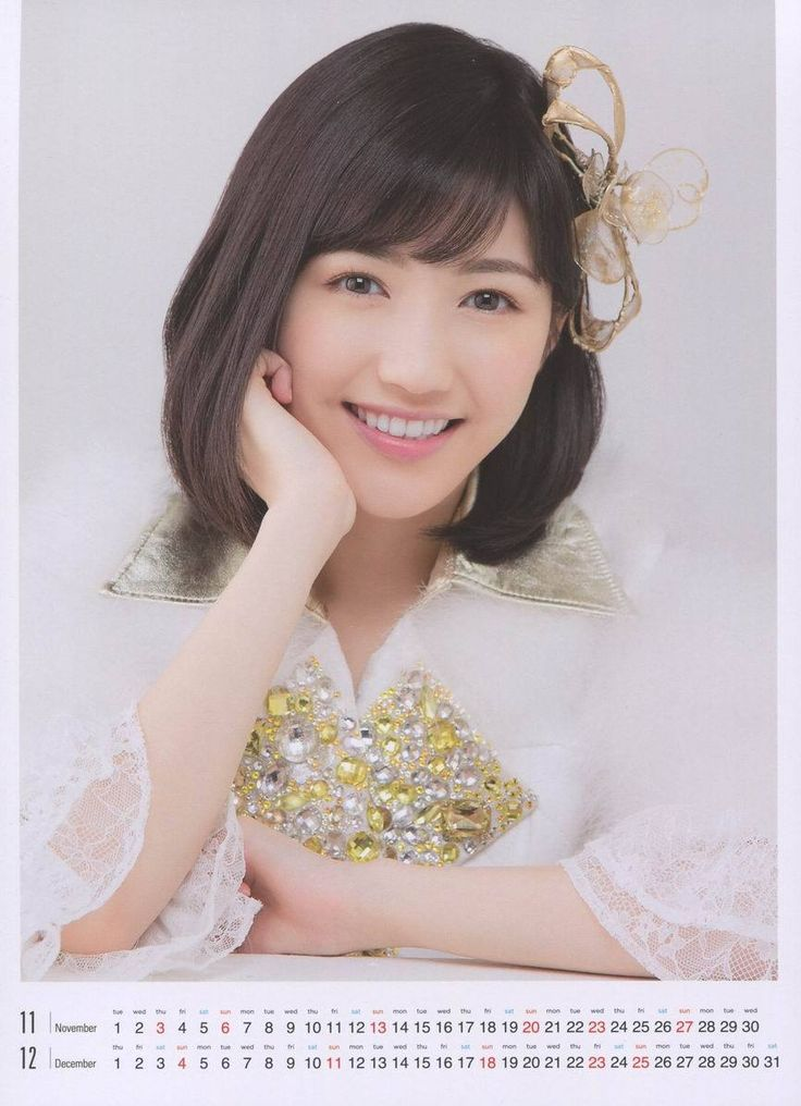 Watanabe Mayu's cute lovely smile    :3