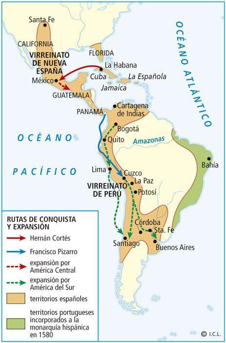Primeras De Mapa Colonias 13 Las