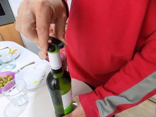 Aicok Abridor de Botellas de Vino Eléctrico