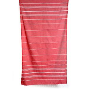 LINENS & MORE Turkish Towel Red