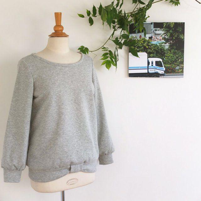 So Sweat - les Patrons de Delphine et Morissette / Patron de couture pour coudre un sweat shirt