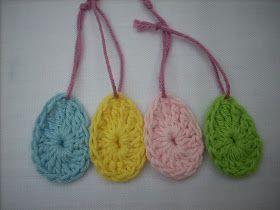 Scraponique: Easter Eggs - Paaseitjes. Easy Pattern - Eenvoudig Patroontje.