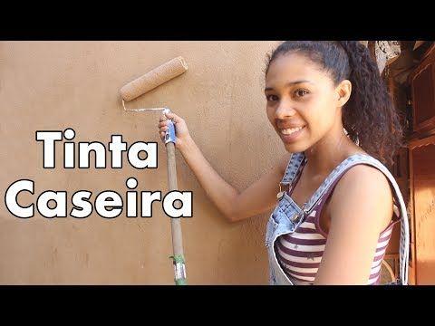 Como fazer tinta caseira e pintar sua casa economizando até 70% l Faça você mesmo l DIY - YouTube