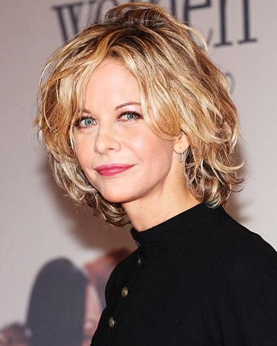 """Meg Ryan's Highlighted Shag Perhaps an evolved version of """"The Rachel,"""" women in the early to mid-aughts sported shaggy layers with pale highlights a la Meg Ryan. Ryan's famed cut was the work of celebrity hairstylist Sally Hershberger, who created the look with well-placed razored layers. Decade Hairstyles"""