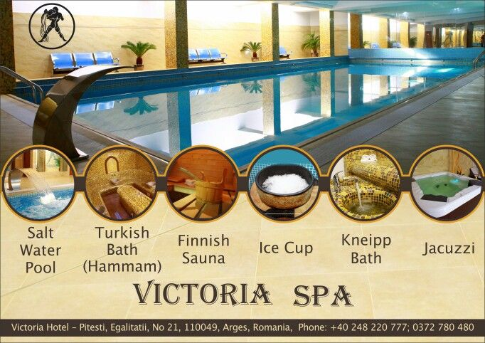 #spa #pitesti #victoriahotelspa #relax #health #wellness #sauna #turkishbath #jacuzzi #pool